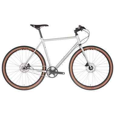 Vélo Singlespeed ALL-CITY SUPER PROFESSIONAL Argent 2022